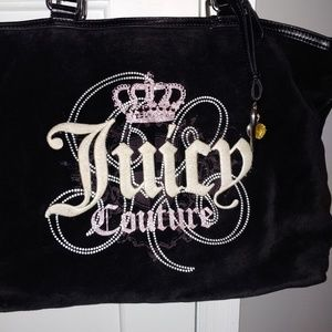 Juicy Couture Velour Tote Bag